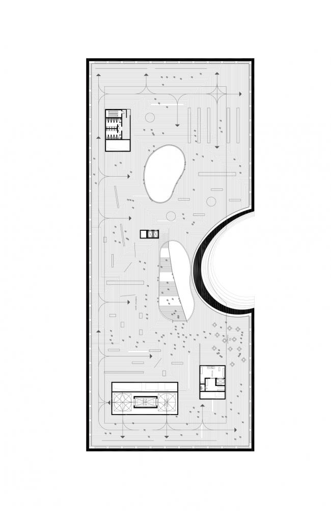 Plan of the top museum floor © DNK AG
