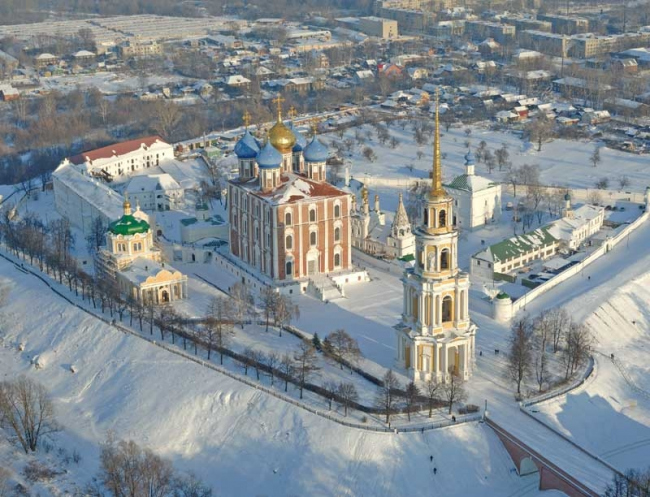 Рязанский Кремль. Источник: www.union-travel.ru