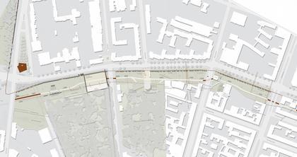 Мемориал Берлинской стены. Проект. План