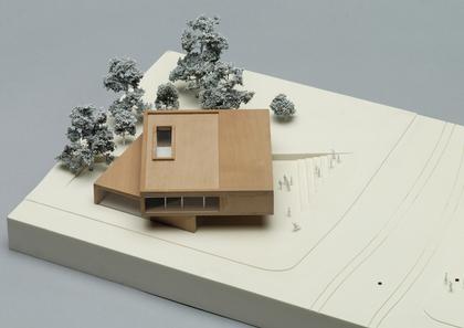 Мемориал Берлинской стены. Проект. Макет информационного центра