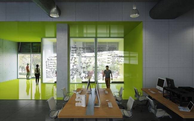 Корпус Lassonde Studios Института предпринимательства Лассонда © Yazdani Studio