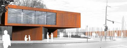 Мемориал Берлинской стены. Проект. Информационный центр