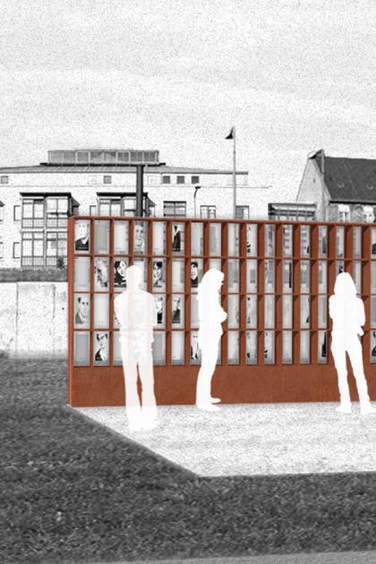 Мемориал Берлинской стены. Проект. «Окна памяти» – мемориал погибшим