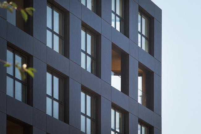 Дом на 40 квартир в районе Клиши-Батиньоль © Julien Lanoo