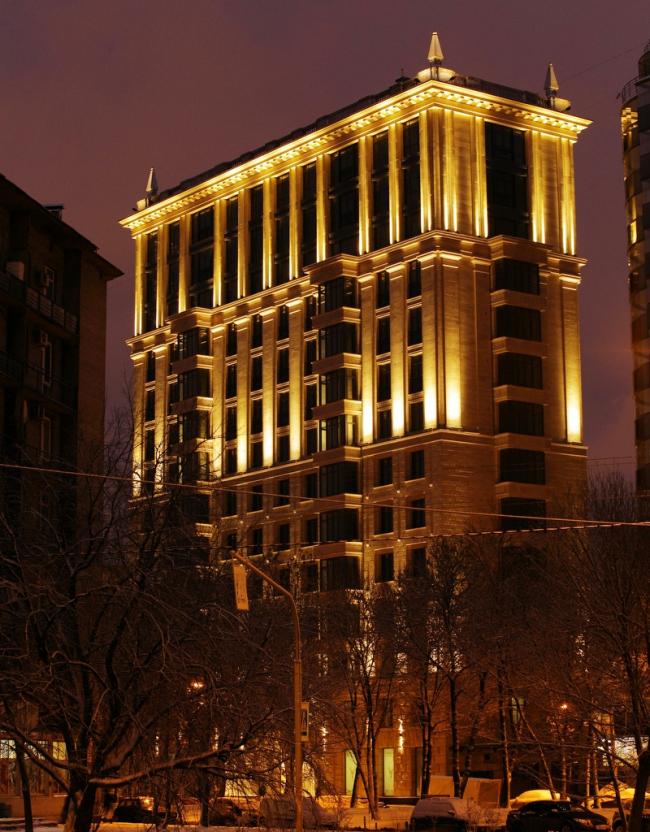 "The building at 5, Pobedy Street. ""Eugene Gerasimov and Partners"", 2014. Photo courtesy of LEGENDA Intelligent Development"