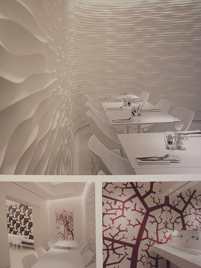 «Общественный интерьер - инновация». Ресторан Olivomare в Лондоне (Пьерлуиджи Пиу). В категории «традиция» премию за общественный интерьер в этом году не присудили