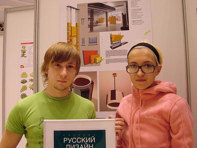 «Русский дизайн». 1 место. Перегородка. Карина Еганян