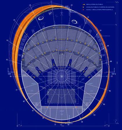 Концертный зал «Зенит» – Страсбург. Проект. План