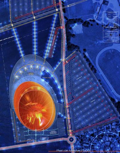 Концертный зал «Зенит» – Страсбург. Проект. Ситуационный план