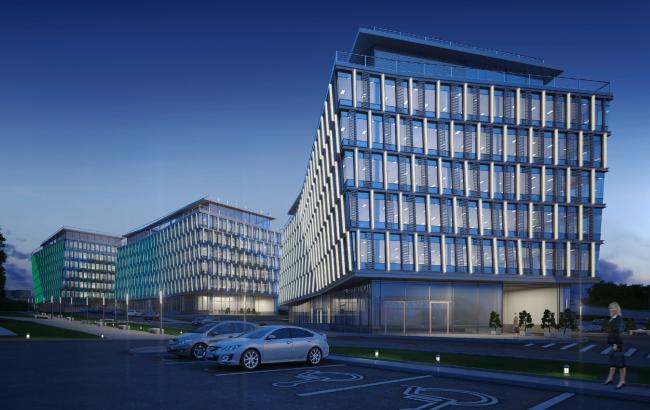 Офисно-деловой центр «Западные ворота 2» © ABD architects