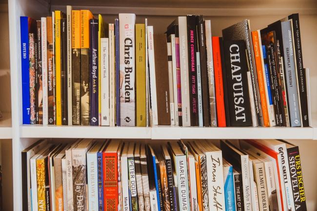 Библиотека Музея «Гараж»,  2014. Фото: Александр Мурашкин © Музея современного искусства «Гараж»