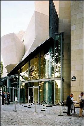 Фрэнк Гери. Здание бывшего Американского центра в Париже. 2005