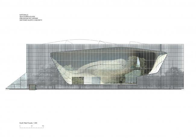Музей истории польских евреев © Lahdelma & Mahlamäki Architects
