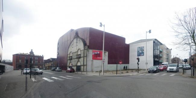 Национальный театральный центр «Комеди де Бетюн» до реконструкции 2000-х © Philippe Ruault
