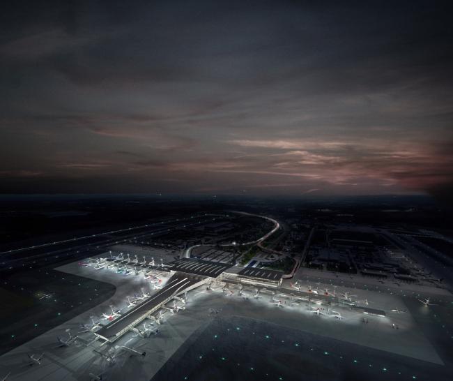 Аэропорт Осло – расширение © Nordic — Office of Architecture