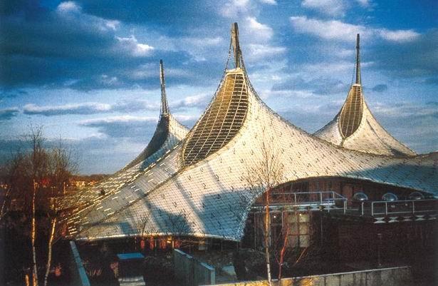 Павильон Германии на Всемирной выставке в Монреале в 1967 © Atelier Frei Otto Warmbronn