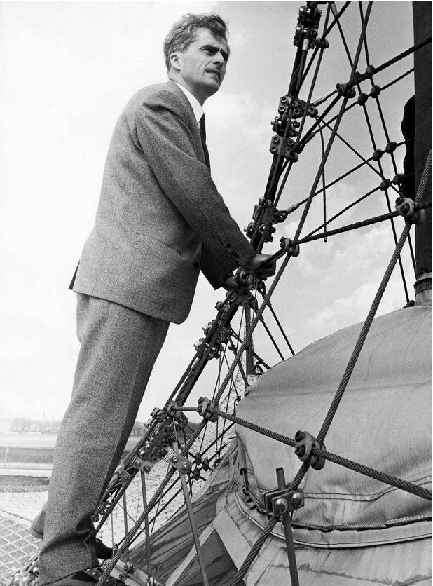 Фрай Отто на Всемирной выставке в Монреале в 1967 © von Schlaich