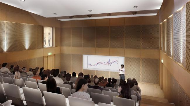 Кампус Центральноевропейского университета – реконструкция. Изображение: Central European University (CEU)
