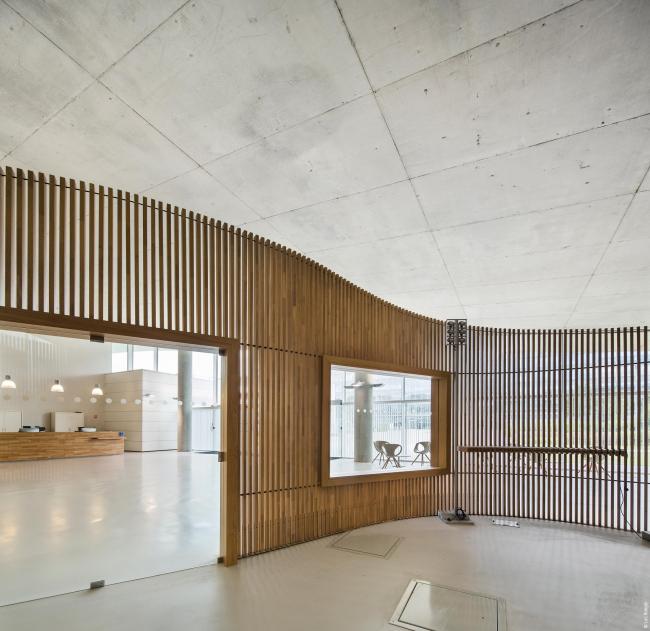 Корпус Бьенвеню – Научный и технический центр Париж-Восток © Luc Boegly