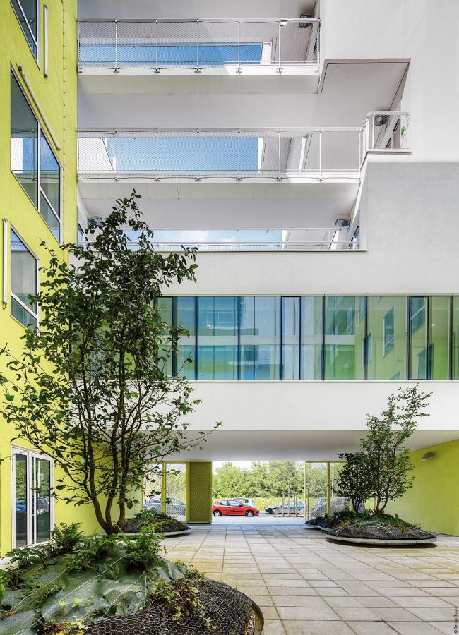 Корпус Бьенвеню – Научный и технический центр Париж-Восток © Sergio Grazia
