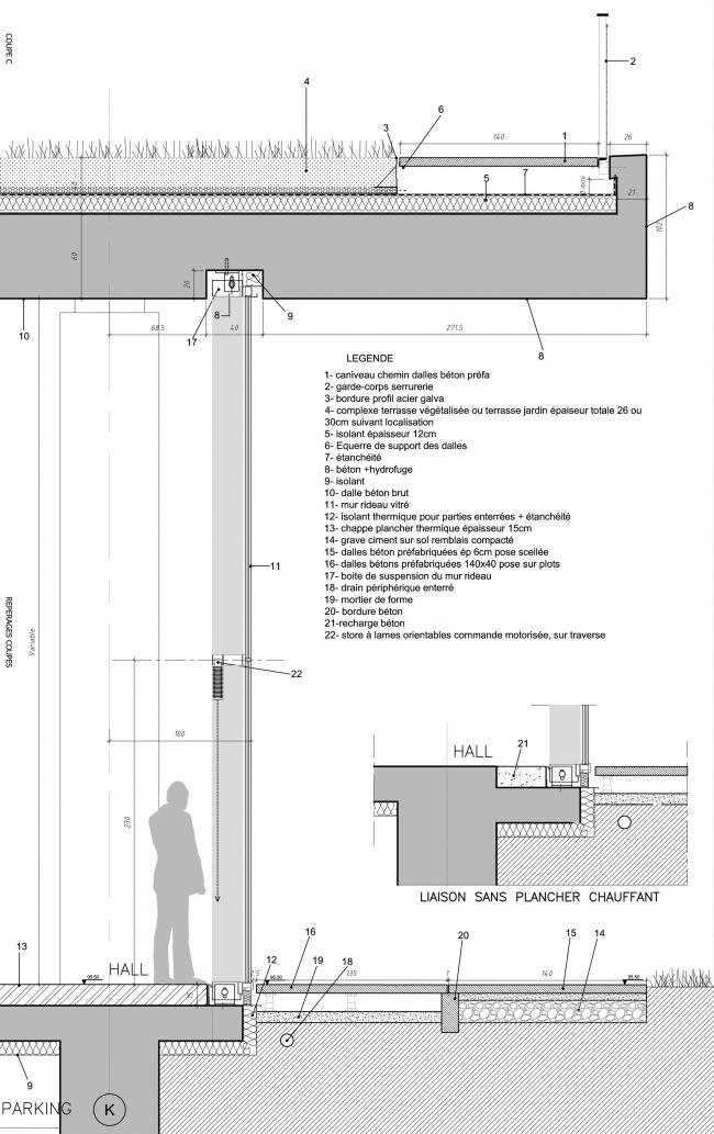 Корпус Бьенвеню–Научный и технический центр Париж-Восток © Pargade Architectes
