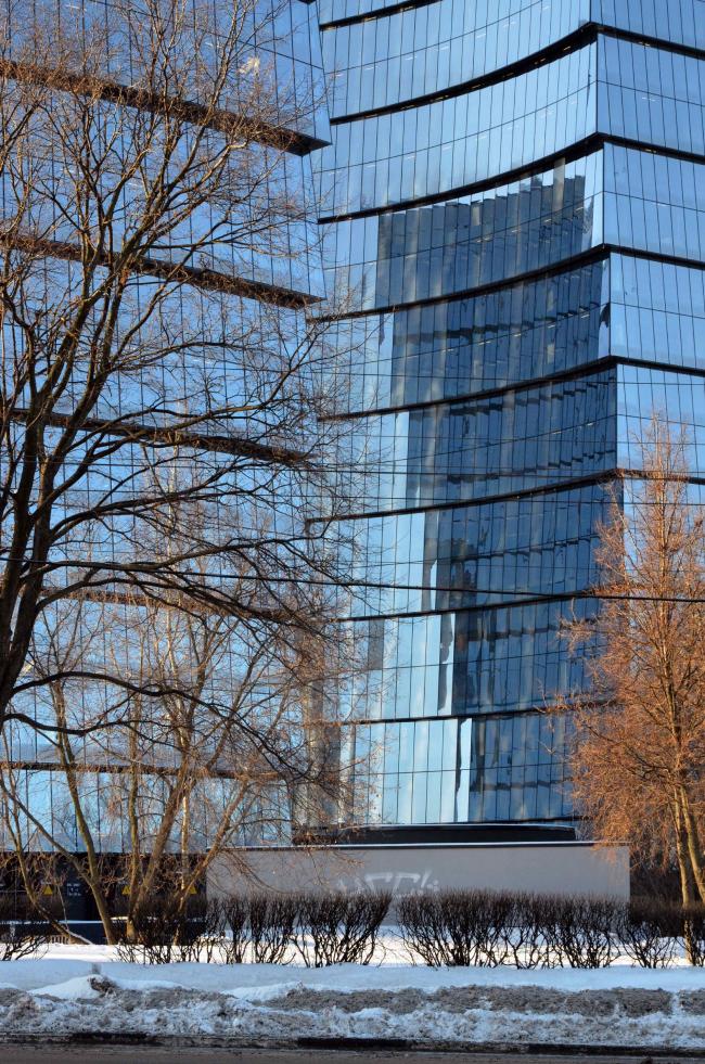 Многофункциональный комплекс «Лотос». Постройка, 2011-2014. Фотография © Алексей Народицкий