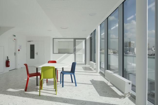 Студенческое общежитие в Порт-де-Ванс © Patrick Müller / Hervé Abbadie