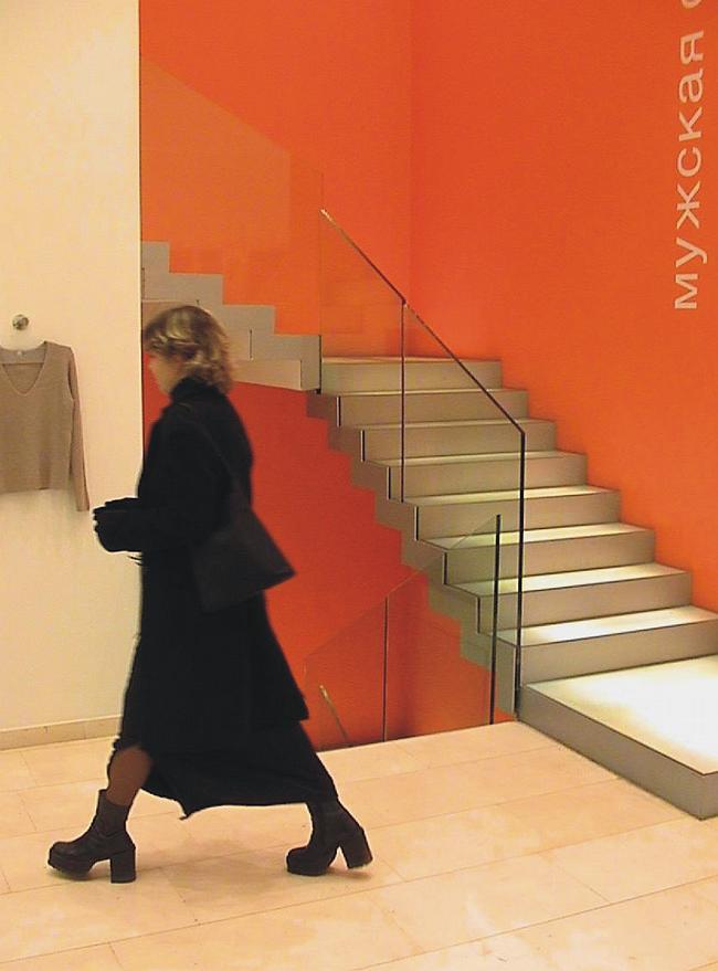 Реконструкция магазина «Бенеттон» © Архитектурная мастерская Павла Андреева