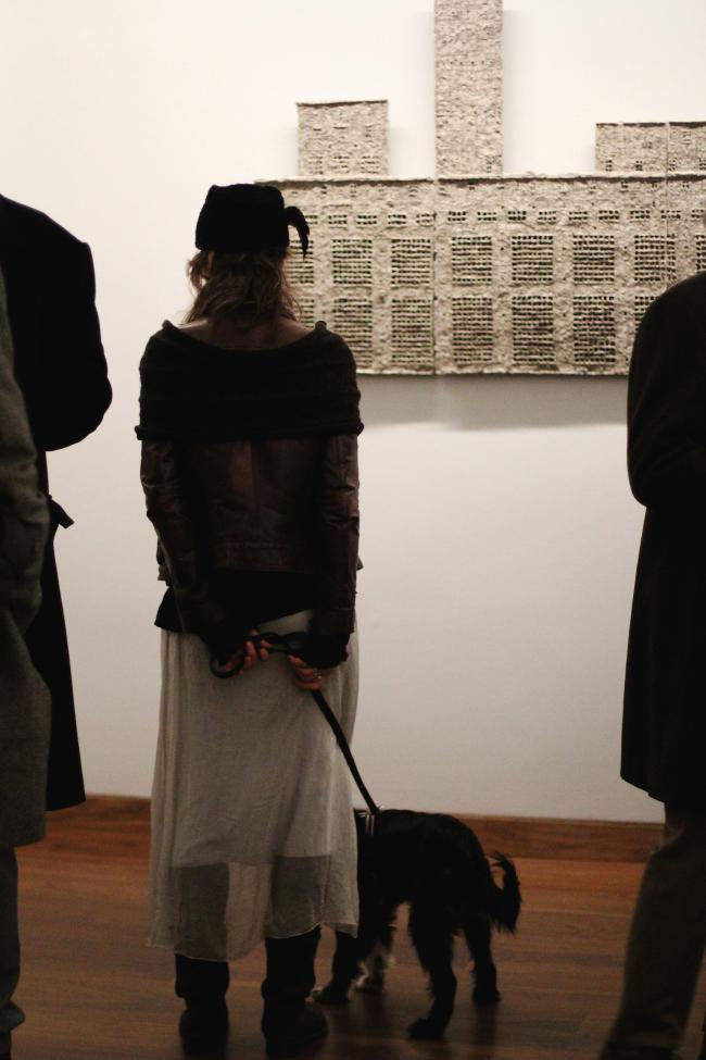 На открытии выставки. Фотография © Michaela Schöpke, 2015