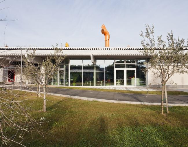 Культурный центр Le Creste © Andrea Bosio