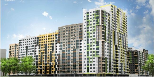 Серия панельных жилых домов. Домостроительный комбинат «ЛСР»