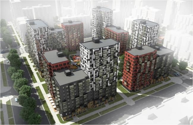 Серия индустриальных жилых домов. Домостроительный комбинат «Нарострой»