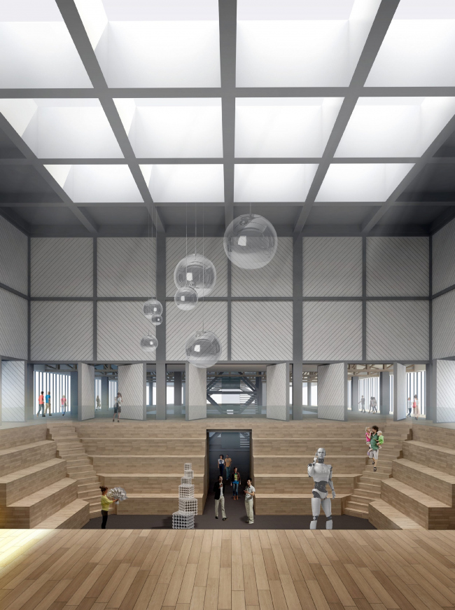 Concept of Science and Technology Museum in Tomsk © Studio 44