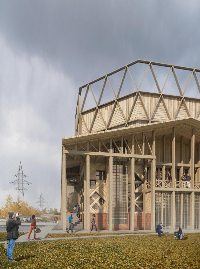 Концепция Музея науки и техники в Томске © Студия 44