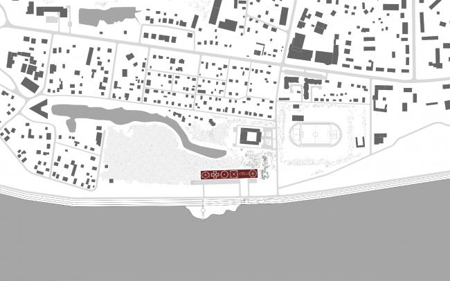 Ситуационный план. Концепция Музея науки и техники в Томске © Студия 44