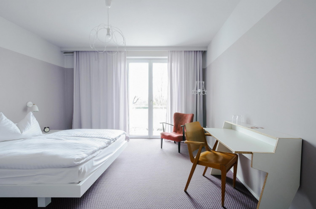 Гостиница magdas Hotel © AllesWirdGut Architektur/ Guilherme Silva Da Rosa
