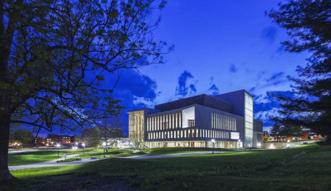 Центр искусств Мосс Политехнического института штата Вирджинии. Фото с сайта snohetta.com