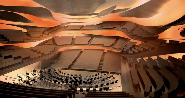 Парижская филармония © Ateliers Jean Nouvel