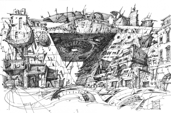 """Bridge House"". Sergey Estrin"