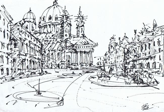 Architectural graphics. Sergey Estrin.