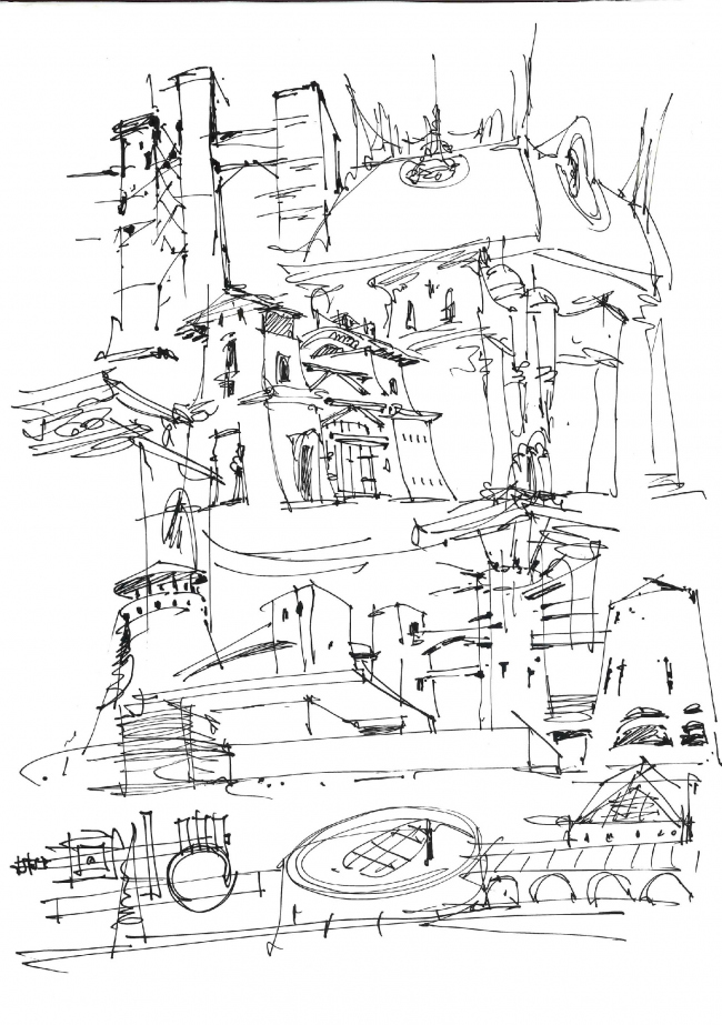 """Just a sketch"". Sergey Estrin"