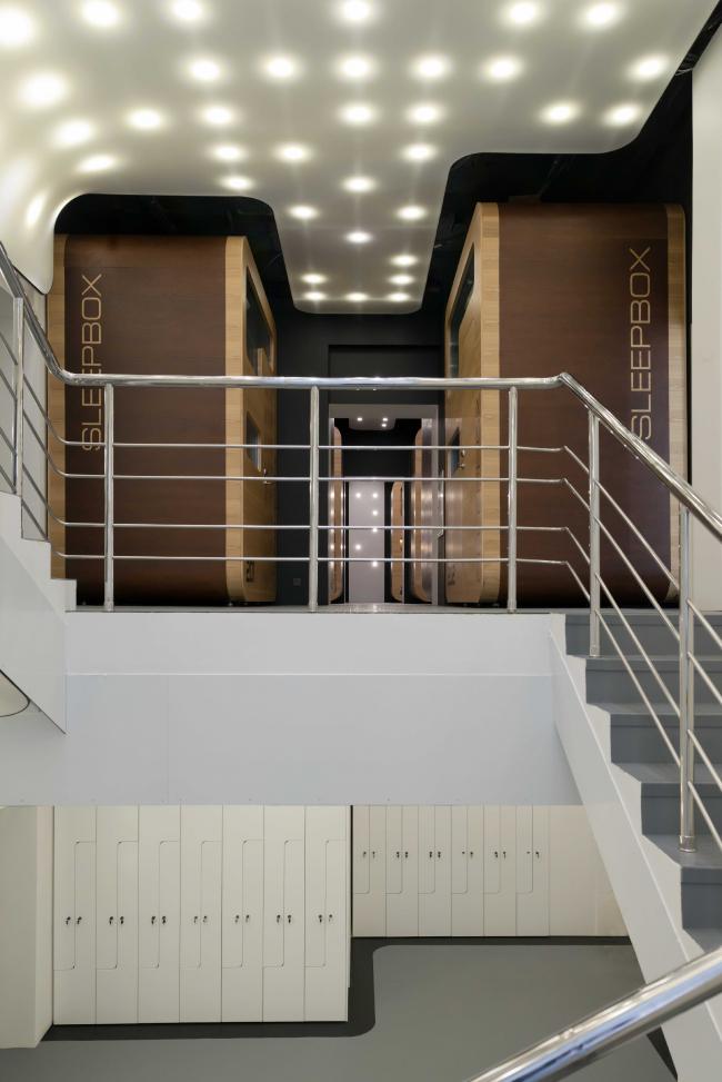 Sleepbox Отель на ул. 1я Тверская-Ямская © Arch group