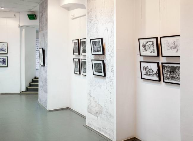 """Estrin Code"" exhibition, 2015 Photo © Dmitry Rudnik"