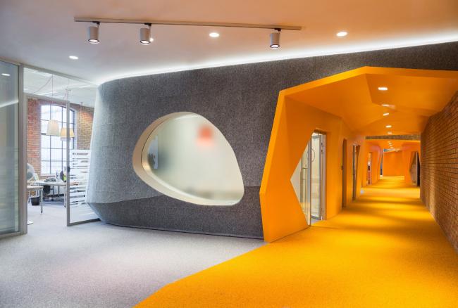 "Yandex HQ on Leo Tolstoy Street (second stage) © ""Atrium"" Architectural Bureau"