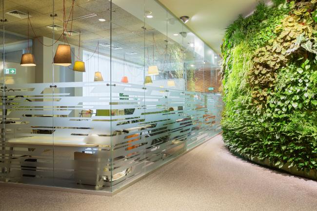 "Yandex HQ on Leo Tolstoy Street (second stage). © ""Atrium"" Architectural Bureau"