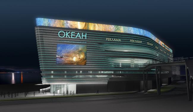Проект многофункционального центра во Владивостоке. ABD architects