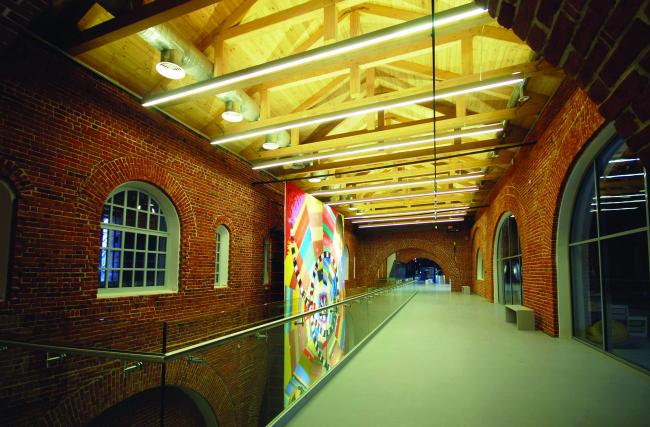 Центр современного искусства здания Арсенала в Нижегородском Кремле. Бюро «Архитекторы Асс»