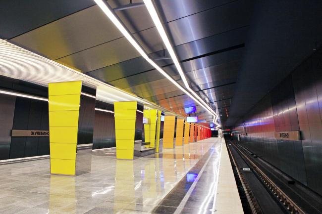 Станция «Жулебино». ОАО «Метрогипротранс»