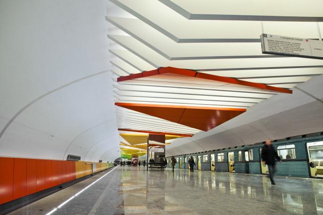 Станция «Лермонтовский проспект». ОАО «Метрогипротранс»