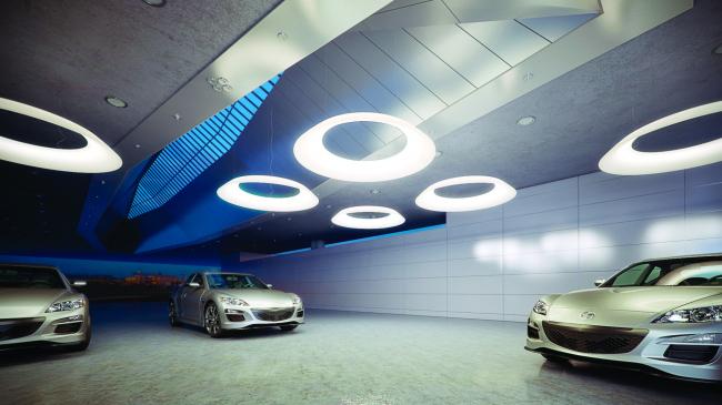 Подвесной светодиодный светильник NIMB. Дизайнер Эдуард Жегалин, производитель «МДМ-Лайт»